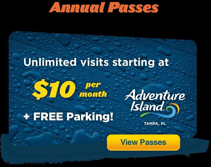 Buy Tickets Amp Passes Adventure Island Tampa